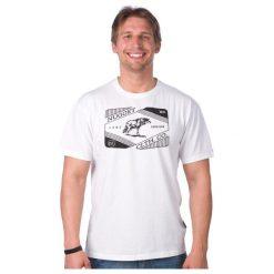 T-shirty męskie: Nugget T-Shirt Męski Survivor S Biały