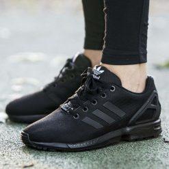 """Buty adidas ZX Flux Kids """"Core Black"""" (S82695). Białe buciki niemowlęce marki Adidas, m. Za 249,99 zł."""
