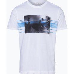 Napapijri - T-shirt męski – Soyo Fantasy, niebieski. Szare t-shirty męskie z nadrukiem marki Napapijri, l, z materiału, z kapturem. Za 149,95 zł.