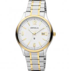 Zegarek kwarcowy w kolorze srebrno-biało-złotym. Szare, analogowe zegarki męskie Esprit Watches, ze stali. W wyprzedaży za 136,95 zł.
