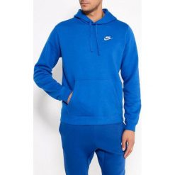 Bejsbolówki męskie: Nike Bluza męska NSW Hoodie niebieska r. XXL (804346-433)