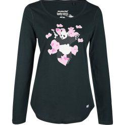 Bluzki asymetryczne: Koszulka w kolorze ciemnozielonym