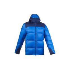 Kurtka trekkingowa Trek 900 Warm męska. Niebieskie kurtki męskie puchowe marki WED'ZE. Za 399,99 zł.