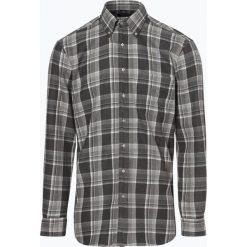 Andrew James - Koszula męska – Two Ply, szary. Szare koszule męskie Andrew James, m, z tkaniny, z podwójnym kołnierzykiem. Za 179,95 zł.