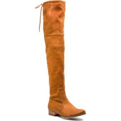 Muszkieterki R.POLAŃSKI - 0794 Rudy Zamsz. Czarne buty zimowe damskie marki R.Polański, ze skóry, na obcasie. W wyprzedaży za 239,00 zł.