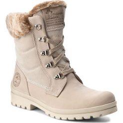 Trapery PANAMA JACK - Tuscani B11 Ice. Szare buty zimowe damskie Panama Jack, z materiału. Za 789,00 zł.