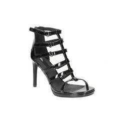 Sandały Blink  SANDAŁY  802396-F-01. Czarne sandały damskie marki Blink. Za 99,99 zł.