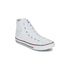 Buty Dziecko Converse  CHUCK TAYLOR ALL STAR CORE HI. Białe trampki chłopięce marki Converse, retro. Za 219,00 zł.