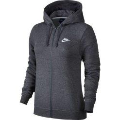 Bluza Nike NSW Hoodie Fleece (853930-071). Szare bluzy rozpinane damskie Nike, z bawełny. Za 219,99 zł.