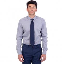 Koszula w kolorze niebieskim. Niebieskie koszule chłopięce marki Polo Club Men, z haftami, z bawełny, z włoskim kołnierzykiem. W wyprzedaży za 217,95 zł.
