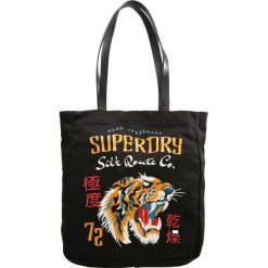 Torebki klasyczne damskie: Superdry KINLIE Torba na zakupy black tiger