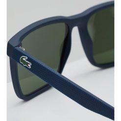 Lacoste Okulary przeciwsłoneczne matte dark blue. Niebieskie okulary przeciwsłoneczne męskie aviatory Lacoste. Za 479,00 zł.