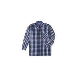 Koszula męska z guzikami, Z KOŁNIERZEM casual. Szare koszule męskie na spinki TXM, m, z bawełny. Za 19,99 zł.