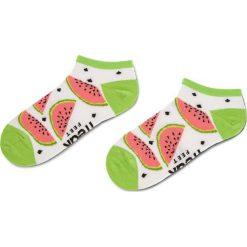 Skarpety Niskie Damskie FREAK FEET - SARB-WGR Biały Kolorowy 1. Białe skarpetki damskie Freak Feet, w kolorowe wzory, z bawełny. Za 14,99 zł.