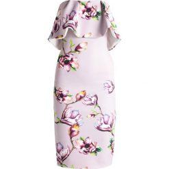 Sukienki hiszpanki: True Violet ROME Sukienka etui lilac