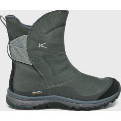 Keen - Śniegowce Winterterra Lea Boot. Brązowe śniegowce damskie Keen, z materiału. W wyprzedaży za 499,90 zł.