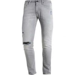 Spodnie męskie: Lee LUKE Jeansy Slim Fit grey denim