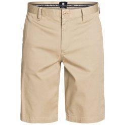 DC Spodenki Worker Roomy 22 Short Khaki 32. Brązowe spodenki sportowe męskie marki DC, z bawełny, sportowe. W wyprzedaży za 126,00 zł.