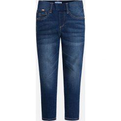 Mayoral - Jeansy dziecięce 98-134 cm. Niebieskie jeansy dziewczęce Mayoral, z bawełny. Za 89,90 zł.