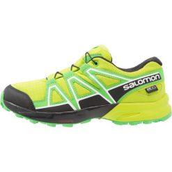 Salomon Obuwie do biegania Szlak lime green/classic green/black. Zielone buty sportowe chłopięce Salomon, z gumy. W wyprzedaży za 221,40 zł.