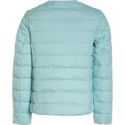Benetton Kurtka przejściowa mint. Niebieskie kurtki dziewczęce przejściowe marki Benetton, z bawełny. W wyprzedaży za 152,10 zł.