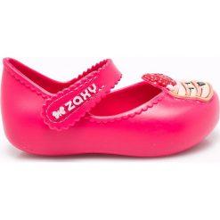 Zaxy  - Baleriny dziecięce. Różowe baleriny dziewczęce marki Zaxy, z materiału. W wyprzedaży za 69,90 zł.