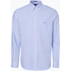 Gant - Koszula męska, niebieski. Niebieskie koszule męskie na spinki GANT, m. Za 379,95 zł.
