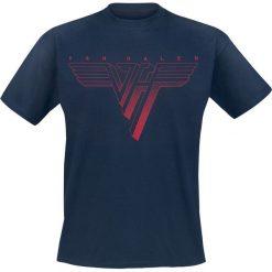 T-shirty męskie: Van Halen Classic Red Logo T-Shirt granatowy