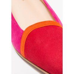 Brenda Zaro LUNA Baleriny tristan red/naranja fluo/pink ray. Czerwone baleriny damskie Brenda Zaro, z materiału. Za 459,00 zł.