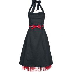 Rock Rebel by EMP Let's Twist Again Sukienka czarny. Białe sukienki na imprezę marki Molly.pl, na lato, s, w jednolite wzory, z bawełny, z dekoltem na plecach, mini, dopasowane. Za 244,90 zł.