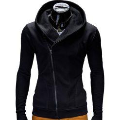 Bluzy męskie: BLUZA MĘSKA ROZPINANA Z KAPTUREM PRIMO – CZARNA