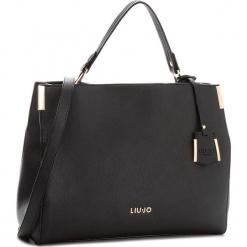 Torebka LIU JO - L Top Handle Isola A68002 E0087  Nero 22222. Czarne torebki klasyczne damskie marki Liu Jo, ze skóry ekologicznej. Za 649,00 zł.