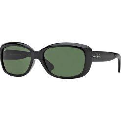Ray-Ban - Okulary Jackie Ohh. Szare okulary przeciwsłoneczne męskie marki Ray-Ban, z materiału. Za 499,90 zł.