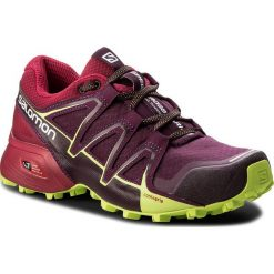 Buty sportowe damskie: Buty SALOMON - Speedcross Vario 2 W 400716 20 V0 Dark Purple/Cerise/Acid Lime