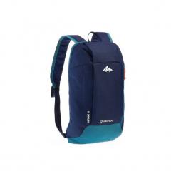 Plecak turystyczny NH100 10 l. Niebieskie plecaki męskie marki QUECHUA, z materiału. Za 12,99 zł.