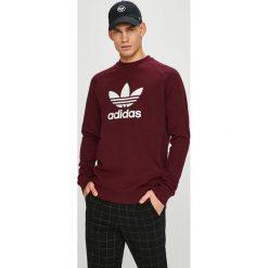 Adidas Originals - Bluza. Brązowe bejsbolówki męskie adidas Originals, l, z nadrukiem, z bawełny, bez kaptura. W wyprzedaży za 199,90 zł.