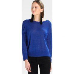 Swetry klasyczne damskie: See u Soon Sweter blue