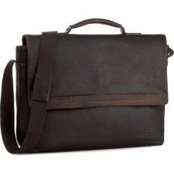 Torba na laptopa STRELLSON - Camden 4010002282 Dark Brown 702. Brązowe torby na laptopa Strellson, ze skóry. Za 919,00 zł.