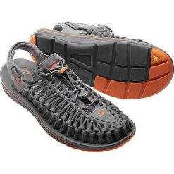 Keen Sandały męskie Uneek Flat Gargoyle/Burnt Orange r. 44.5 (1016901). Pomarańczowe buty sportowe męskie marki Keen. Za 293,51 zł.