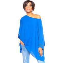 """Bluzki, topy, tuniki: Koszulka """"Pamela"""" w kolorze niebieskim"""
