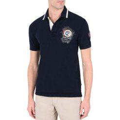 Koszule męskie: Koszulka polo, gładka, z krótkim rękawem