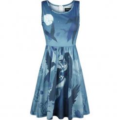 Gothicana by EMP Cheer Up, Boys Sukienka niebieski. Czarne sukienki na komunię marki Mohito, l, z dekoltem na plecach. Za 86,90 zł.