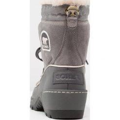 Sorel TORINO Botki quarry. Szare buty zimowe damskie Sorel, z materiału. W wyprzedaży za 455,20 zł.