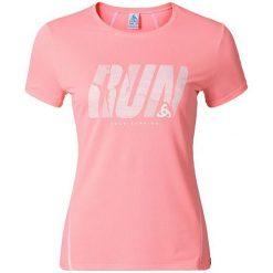 Odlo Koszulka s/s crew neck SHAILA PRINT różowa r. S (380011). Czerwone t-shirty damskie Odlo, s. Za 139,95 zł.