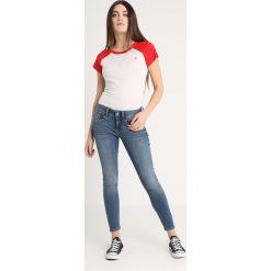 GStar LYNN MID SKINNY ANKLE Jeans Skinny Fit medium indigo aged. Niebieskie jeansy damskie relaxed fit marki G-Star, z bawełny. Za 559,00 zł.