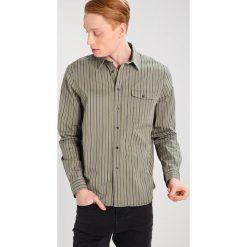 Koszule męskie na spinki: Hope AIR Koszula khaki stripe