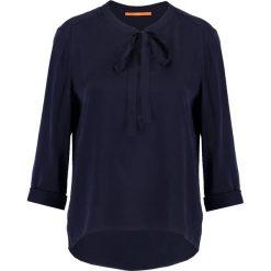 BOSS CASUAL ENDAI Bluzka dark blue. Niebieskie bluzki damskie BOSS Casual, z jedwabiu, casualowe. Za 599,00 zł.