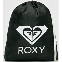 Roxy - Plecak. Czarne plecaki damskie Roxy, z materiału. W wyprzedaży za 59,90 zł.