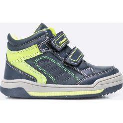 Hasby - Buty dziecięce. Szare buty sportowe chłopięce marki HASBY, z materiału, z okrągłym noskiem. W wyprzedaży za 69,90 zł.