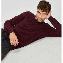 Medicine - Sweter Basic. Szare swetry klasyczne męskie MEDICINE, l, z bawełny, z okrągłym kołnierzem. W wyprzedaży za 103,90 zł.